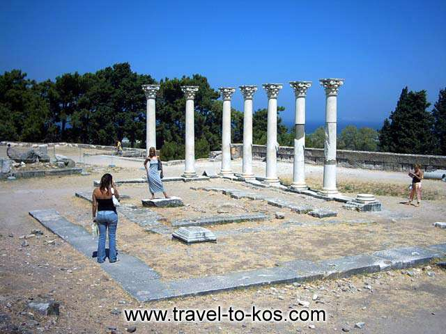 APOLLON TEMPLE - The Apollon Temple is beside the Asklepios altar.