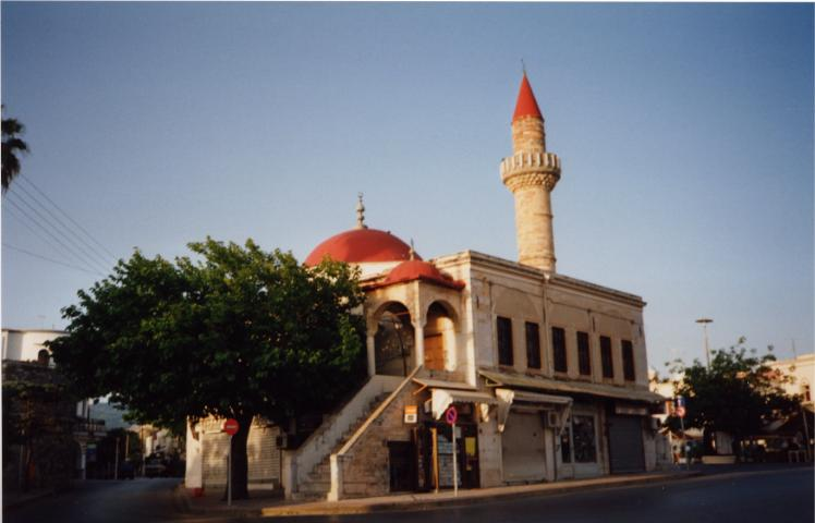 KOS PHOTO GALLERY - Kos Town Minaret by Derek Oakley