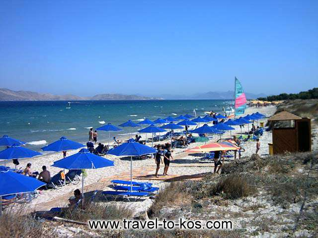 MARMARI BEACH - Marmari beach is one the most popular beach of Kos.