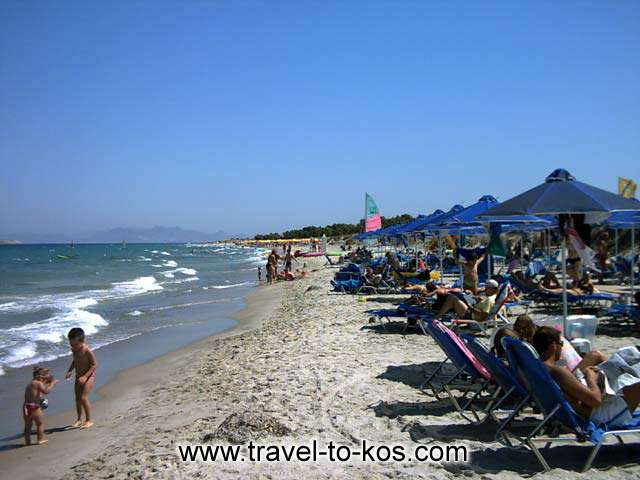 MARMARI BEACH - The sandy deach of Marmari area.