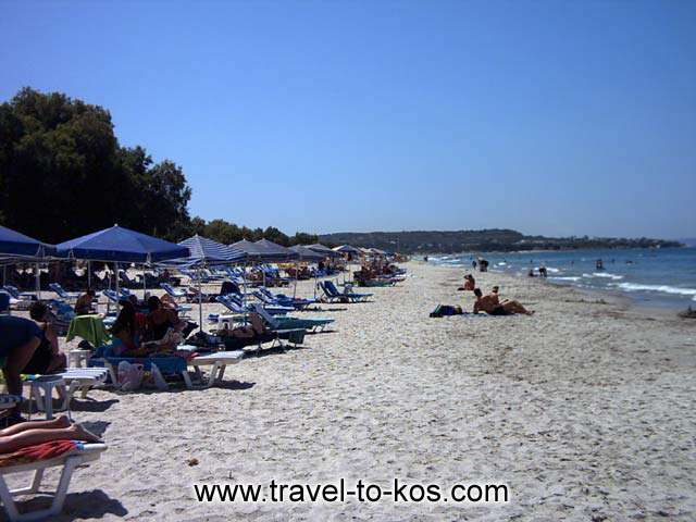 MASTICHARI BEACH - The beautiful beach of Mastichari.