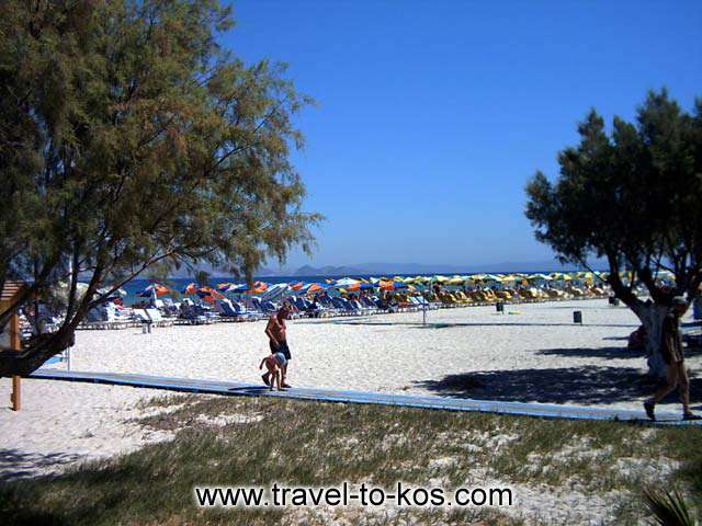TIGAKI BEACH - Tigaki is one of the popular beach in Kos.
