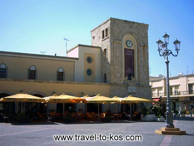 ELEFTHERIAS SQUARE - Eleftherias Square is located ih the center of thw old town of Kos.