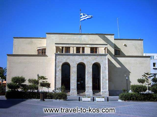 ARCHAEOLOGICAL MUSEUM - The Archaelogical museum of Kos is housed in a duilding at Eleftherias square.