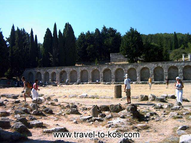ASKLEPION - Visit Asklepion, the temple was build in order to honor the god of medicine.