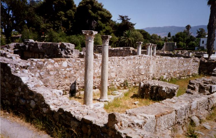 KOS PHOTO GALLERY - Kos Town Ancient Sites by Derek Oakley