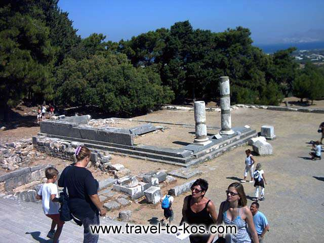 ALTAR OF ASKLEPIOS - The altar of Asklepiow and thw temple were build in the 3rd b.c. century.