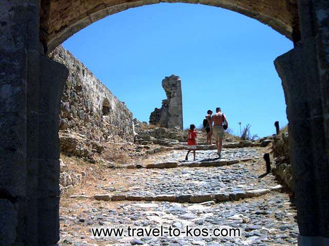 The castle was built upon the ruins of an earlier structure. 