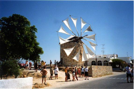 KOS PHOTO GALLERY - Windmill at Andimachio by Derek Oakley