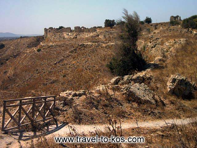 THE FORTRESS OF ANTIMACHIA - The wild view impress every visitor.