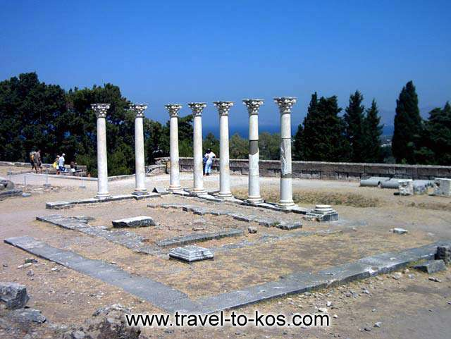APOLLONOS TEMPLE - Asklepion:the ancient sanatorium.