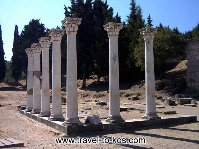 APOLLONOS TEMPLE - As mythology said, Asklepios was son of god Apollon.
