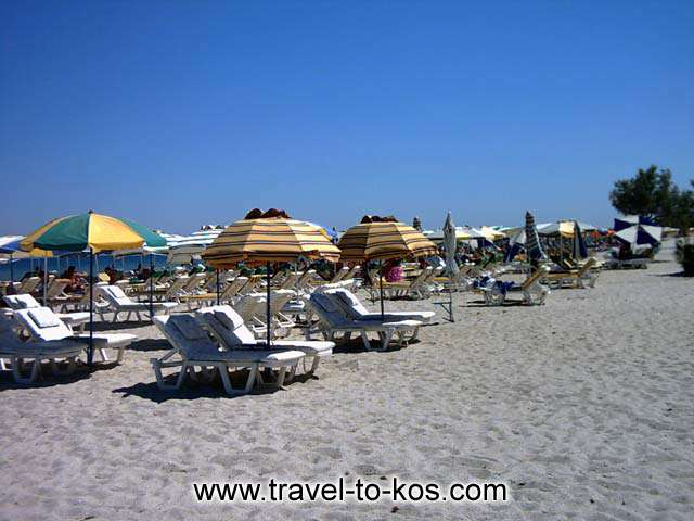 TIGAKI BEACH - Tigaki (or Tingaki)is 10 km away from the Kos town.