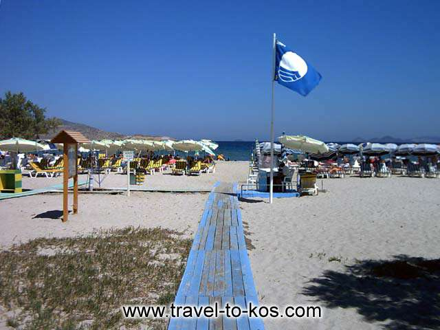 TIGAKI BEACH - Tigaki beach has award the prize to the Blue flag.