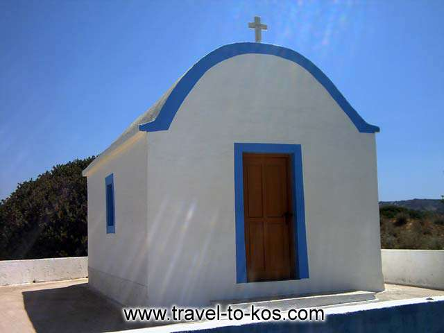 CHURCH - This little church is on the way to the castle of Antimachia.