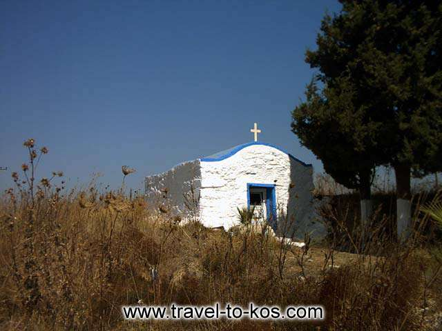 SAINT GEORGE - The church of saint George is on the way to the Mastichari village.