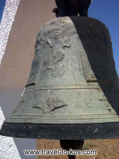 BELL - The bell of Saint Nikolaos church is hand - made.