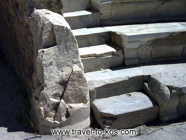 ROMAN ODIUM - The marble seats of odium.