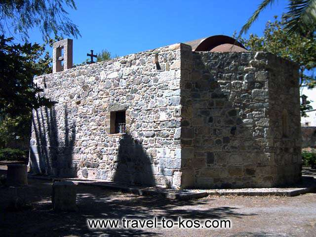 BYZANTINE CHURCH - The ancient city has monuments of different historical period. Such as this Byzantine church.