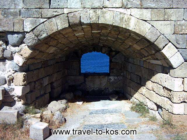 THE NERATZIA CASTLE - The Neratzia castle is one the most important monuments of Kos.