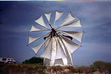 Windmill - windmill in the center of the Island by Jon Dolan