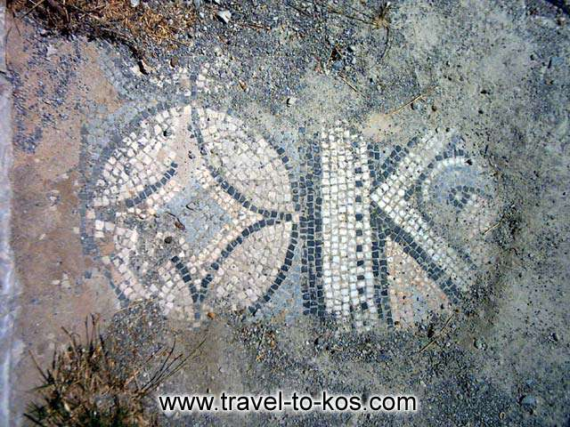 MOSAIC - Ancient city is full of imposing monuments. Such as the mosaic with the marvellous design.