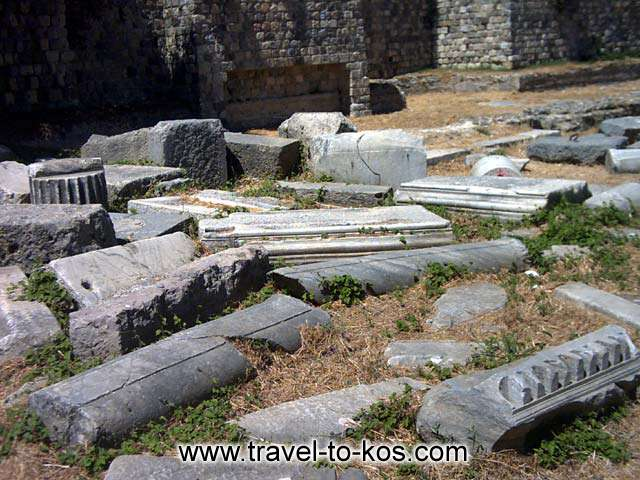 ANCIENT TOWN - Excavations have brought to light many archaeological findings.