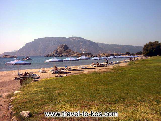 AGIOS STEFANOS BEACH - Agios Stefanos beach acttract many tourists.