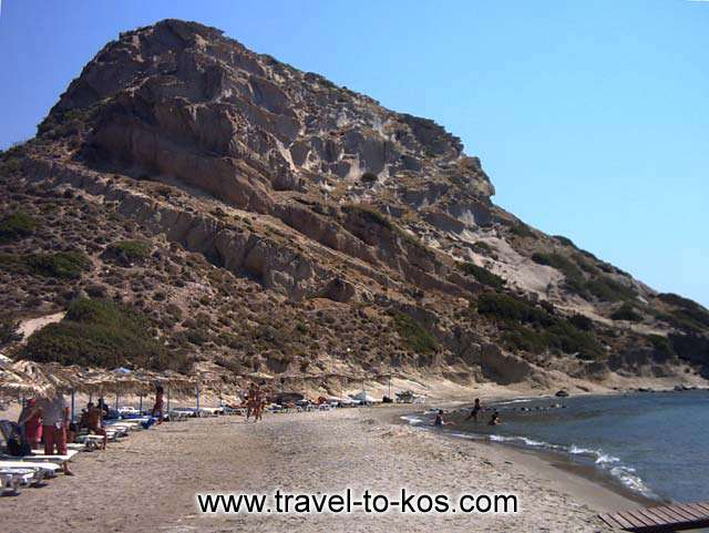 ROCKY HEAD - The wild beauty of the rocky head of Agios Stefanos seaside resort.