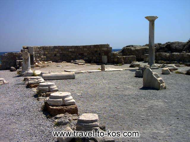 BASILIKA OF AGIOS STEFANOS - Basilica of Agios Stefanos is the most important ancient monument of the area.
