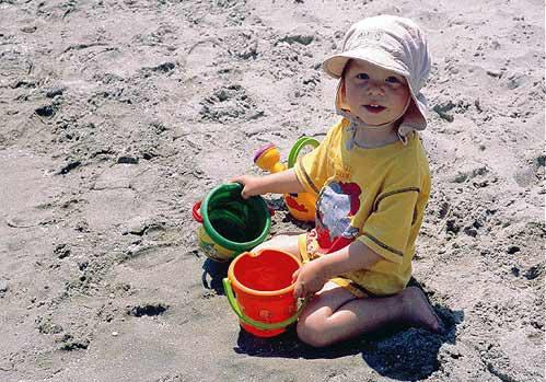 GIRL ON THE BEACH -