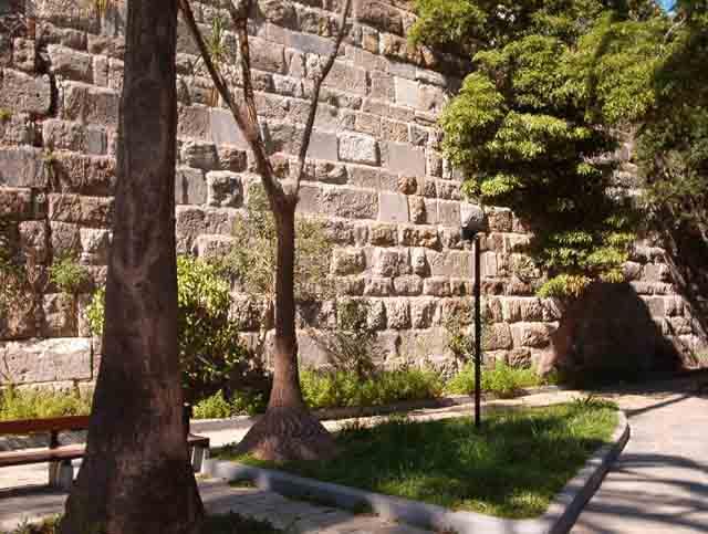 Castle wall -