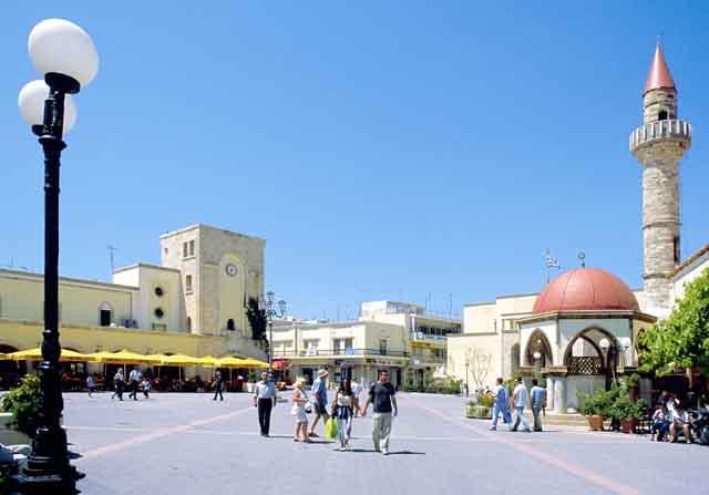 Eleftherias square -