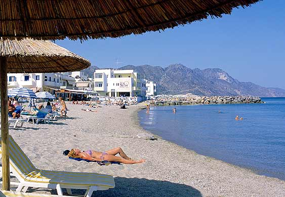 The gallery for --> Greek Beach Sunbathers