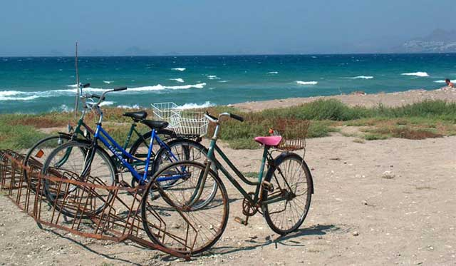Bikes and sea -  by Yvan Jonneret