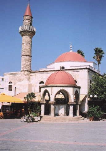 MOSQUE - Mosque in the city of Kos by macicka