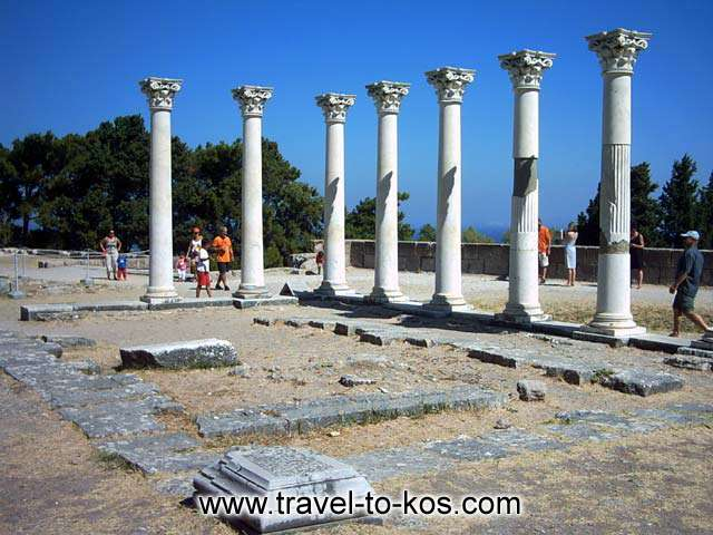 Ionian rythm temple of Apollonos KOS PHOTO GALLERY - APOLLONOS TEMPLE