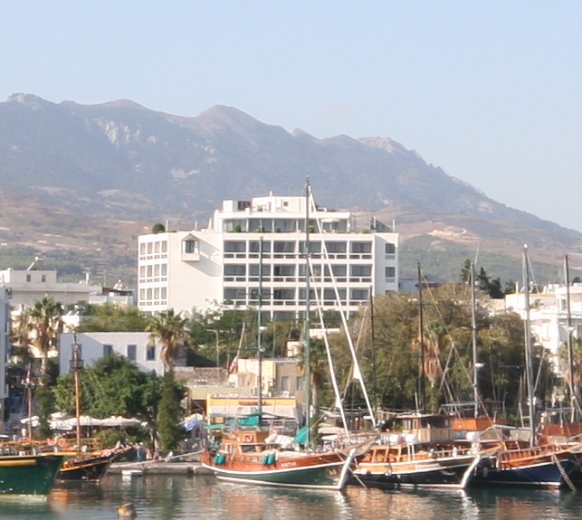 Photo of Alexandra hotel in Kos island. CLICK TO ENLARGE