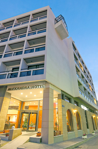 Conference centre of Alexandra Hotel, located in kos town. CLICK TO ENLARGE