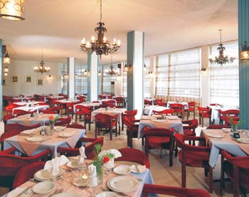 A photo from restaurant of the hotel Atlantis CLICK TO ENLARGE