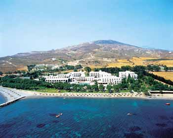 Photo of Oceanis Beatch Resort from helicopter CLICK TO ENLARGE