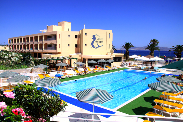 NIRIIDES BEACH HOTEL 3*** IN  24-25, Papandreou str. (Kos Town)