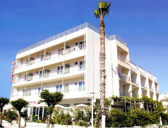 Hotel Koala in Kos town. CLICK TO ENLARGE