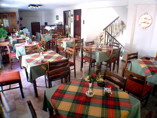 Inside view of our traditional restaurant CLICK TO ENLARGE