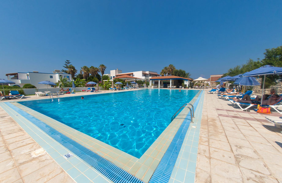 Panoramic view of Tigaki Star hotel in Kos CLICK TO ENLARGE