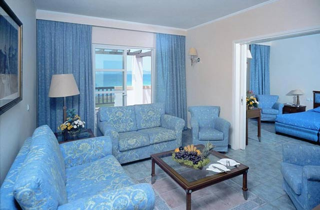 Image of Suite of Neptune Resort hotel on Kos Dodecanese, Greece. CLICK TO ENLARGE