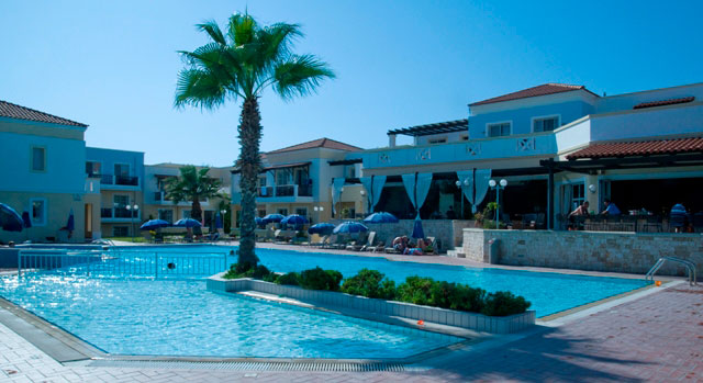 Image of swimming pool picture of Aegean Houses Hotel in Kos Greece CLICK TO ENLARGE