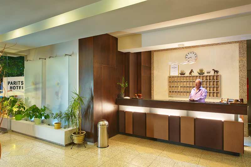 PARITSA HOTEL 2** IN  50, Kanari & Spetson str. (KOS TOWN)