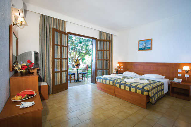 Another image of double room of Gaya Hotel, Kos Greece. CLICK TO ENLARGE