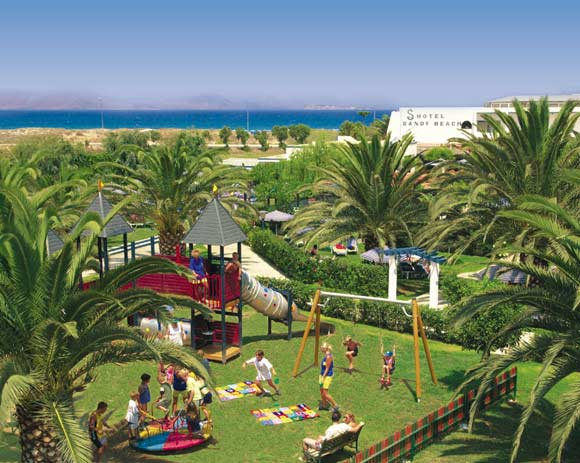 Fun for kids to our playground, family hotel Sandy Beach CLICK TO ENLARGE